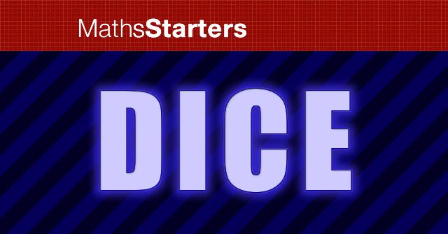 MathsStarters Dice logo image